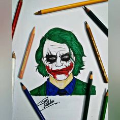 joker drawings easy drawing cool sketches sketch really phone case pencil cartoon draw ledger heath human theunlawyer fasterfiles anatomy xyz
