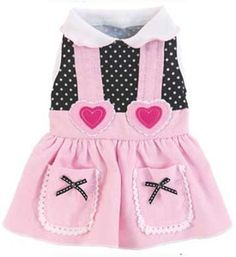 Pet Dress My Sweetheart Pink Designer Dog Apparel