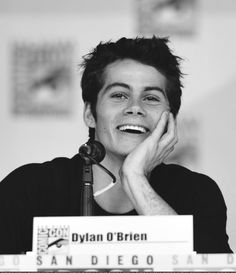Dylan O'Brien and his smile
