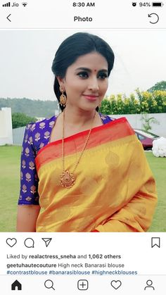 How to Get A Designer Saree Look with a Simple Saree How to Get A Designer Saree Look with a Simple Saree,blouse design get New look to your old sarees Related posts:Flores,Flores Comencemos con. Blouse Neck Patterns, Blouse Designs High Neck, Simple Blouse Designs, Stylish Blouse Design, Silk Saree Blouse Designs, Bridal Blouse Designs, Pattern Blouses For Sarees, High Neck Kurti Design, Kalamkari Blouses