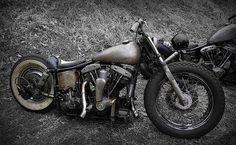 Shovelhead | Bobber Inspiration - Bobbers and Custom Motorcycles | saltadkaramell November 2014