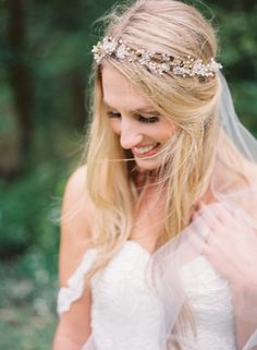 Outdoor Romantic Bridal Session