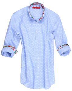 4e02b82ed2e Polka Dot Regular Size XL Button-Front Casual Shirts for Men