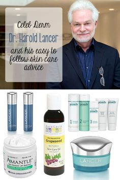 Skincare advice from celeb dermatologist Dr. Lancer. You don't need to be a star to get glowing skin!