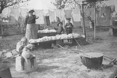 frugal old time soap making