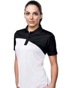 Women's S/S Golf Shirt Tri mountain KL147 #comfortable  #followme  #greatdeals
