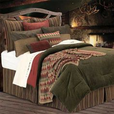 Beautiful Cabin Bedding for Kids