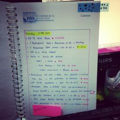 daily planner, weekly planner