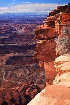 Dead Horse Point, near Moab, Utah  Photo credit: Jack Quintero