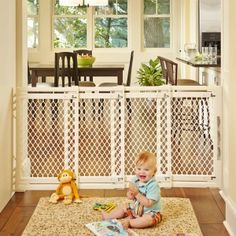 Extra-Wide Gate – Ivory