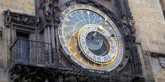 Praha old town clock