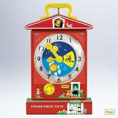 Hallmark 2011 Music Box Teaching Clock Fisher Price - QXI2459 >>> Find out @