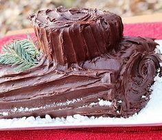 Vegan Yule Log Cake. Recipe from https://docs.google.com/document/pub?id=1AZcEnyDvHQvJekMbe1jiU0q1frWRQzCO863aXsAOt_s.