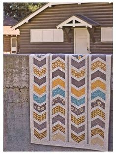 Sketchy Quilt Pattern