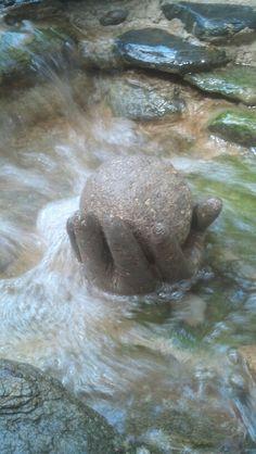 Hypertufa Hand