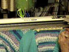 Beginner Project #13 Neckband 2 of 2 neckband on a v neck sweater part 2