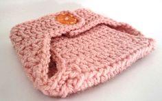 Newborn Diaper Cover, Crochet Diaper Cover, Pink Bloomer, Girls Diaper Cover by MerrywoodFarm on Etsy