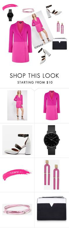 """""""Own who You are"""" by curlysuebabydoll ❤ liked on Polyvore featuring Topshop, ROSEFIELD and Miss KG"""