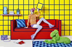 Stefan Sagmeister y Jessica Walsh: pop art en 3D | itfashion.com
