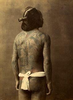 Japan | Samurai warrior. ca. 1875 | Photographer Baron Von Stillfried