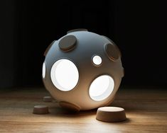 A Light Inspired by the Moon's Surface