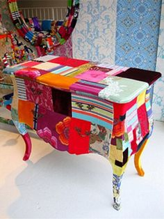 Quilts + Color: Perfect Painted Patchwork Furniture