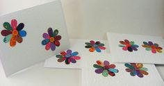 Blank Greeting Cards with Small Flowers for by FindUrHappyPlace, $14.00