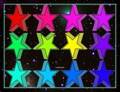 Stars shining bright..... (88 pieces)