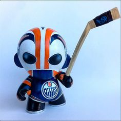 """""""Dr Dangler"""" 8"""" Kidrobot Munny Custom via www.ChrisBrett.ca"""