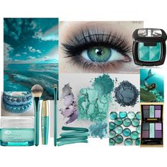 """""""Ocean Inspiration - Shaded Summer"""" by prettyyourworld on Polyvore"""