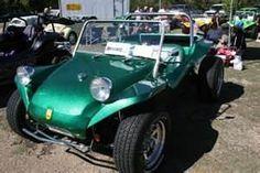 1970 green Dune Buggy