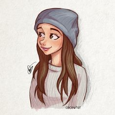Ari with beanie by cecewhat