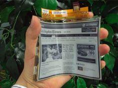 Llega el papel electrónico: fino y que se puede doblar. Pincha en la imagen para conocer los detalles de la nueva pantalla de ePaper de LG.