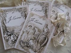 Jane Austen inspired tags