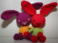 Ravelry: Bunny - Rabbit pattern by Stephanie Risthaus