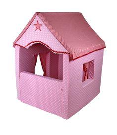 Spielzeug - Matratzen-Spielhaus Milo rosa mit Schönheitsfehler - ein Designerstück von Plumplori-Paris bei DaWanda