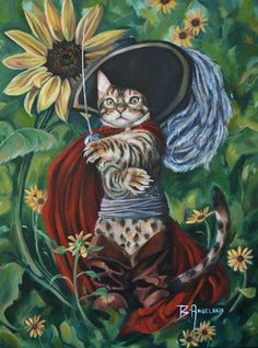 A PUSS IN BOOTS BY BRIANNA ANGELAKIS