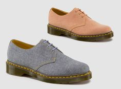 Dr. Martens 1461 3-Eye Shoe 'Chambray' Pack