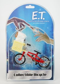 NEW Universal Studios E.T. the Extra-Terrestrial Collectible Bicycle figure