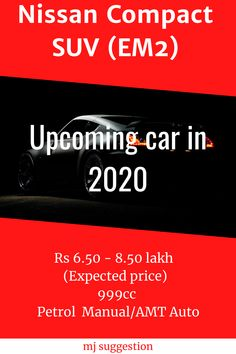 Nissan compact suv in india Diesel, Upcoming Cars, New Nissan, Compact Suv, Car Ins, Cars And Motorcycles, Auto Racing, India, Luxury