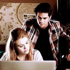 teen wolf | Lydia x Stiles