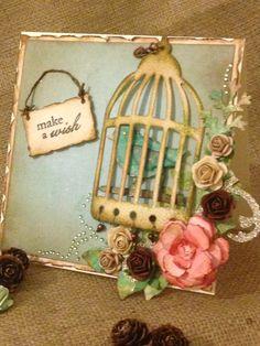 Tim holtz bird cage die