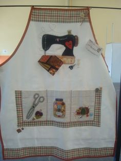 Sew me an apron My Sewing Room, Sewing Rooms, Love Sewing, Sewing Hacks, Sewing Crafts, Quilting Projects, Sewing Projects, Apron Designs, Cute Aprons