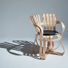 Frank Gehry'sCross Check™ chair.