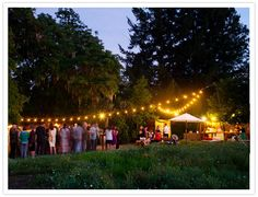 White Globe Lights for Outdoor Wedding Event Planner: http://www.amynichols.com Photo:http://www.floryphoto.com