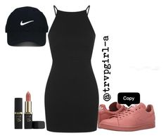 """""""i can't tell if it's real or not but its sitting pretty"""" by trvpgirl-a on Polyvore featuring L'Oréal Paris, adidas, Topshop and Nike Golf"""
