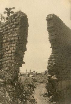 Una vista del templo de Nuestra Sra. de los Angeles