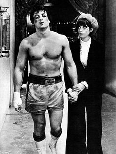""" Rocky Balboa Sylvester Stallone Rocky 1976 -one of my favorite couples. Rocky Balboa Movie, Rocky Film, Rocky Balboa Quotes, Rocky Balboa Poster, Sylvester Stallone, The Expendables, Matthew Mcconaughey, Rocky Y Adrian, Citations De Rocky Balboa"