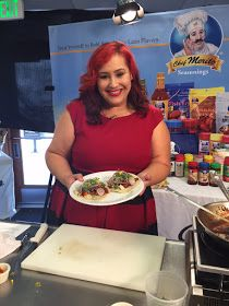 Fab Girl Magazine: Cooking with MasterChef Claudia Sandoval