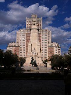 Plaza de Espania, Madrid